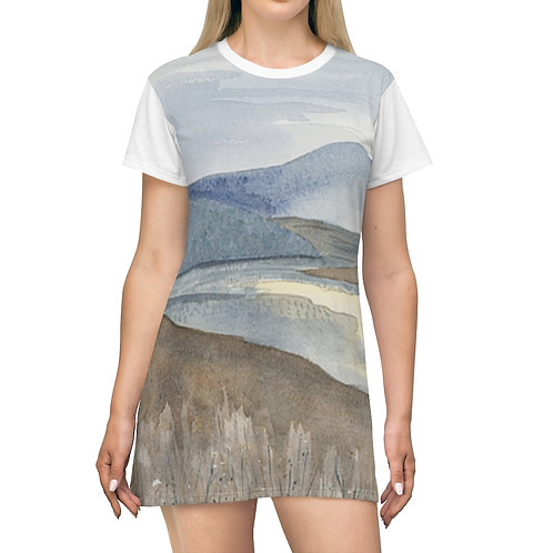 """A Break in the Clouds"" T-Shirt Dress"