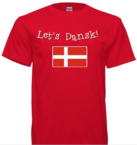Let's Dansk! T-shirt