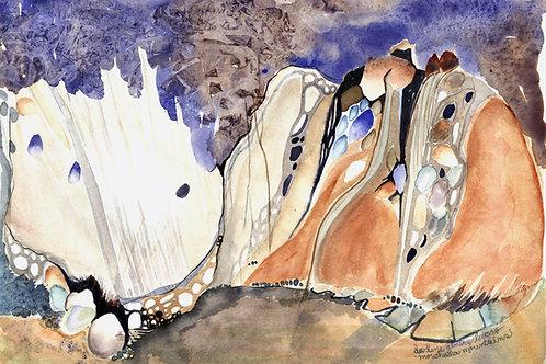 Morcella Mountains (print)