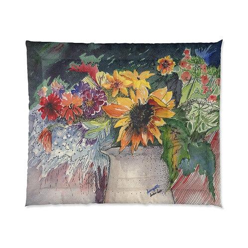 """""""Bouquet"""" King/Queen Comforter"""