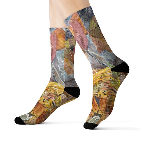 """Wind and Wild"" Socks"