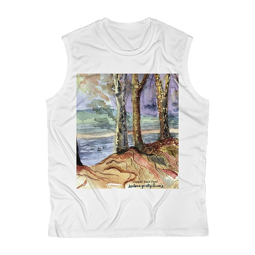 """Duck Pond"" Men's Sleeveless  Tee"