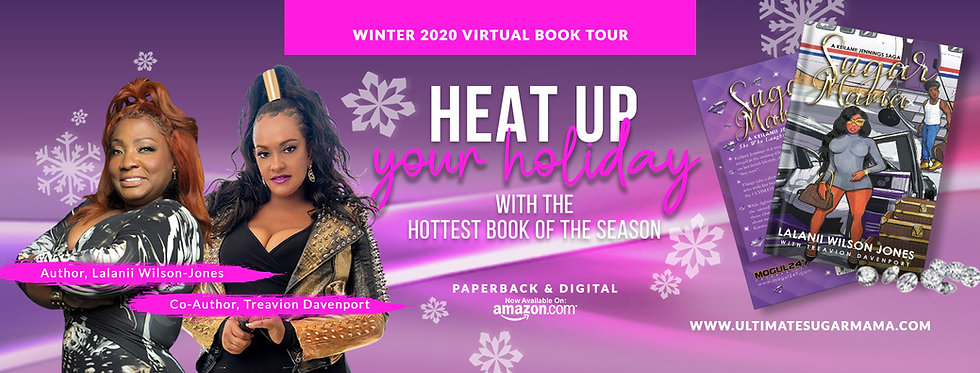 SUGAR MAMA WINTER 2020 VIRTUAL BOOK TOUR