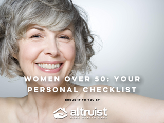 WOMEN OVER 50: YOUR PERSONAL CHECKLIST