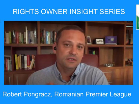 Robert Pongracz, Romanian Premier League [Rights Owner Insight Series]