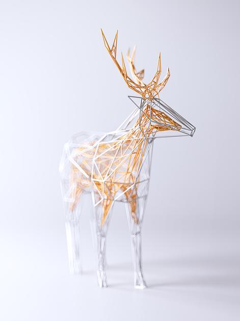 Wires V2: the deer by Mat Szulik (@matszulik)