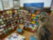 Interior de la Librería Alemana en Madrid, libros en alemán en Madrid