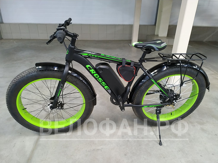 Электровелосипед фэтбайк Crosse 26