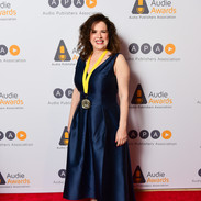 Eve Passeltiner at Audies 2020  (Photo Credit Max Flatow)