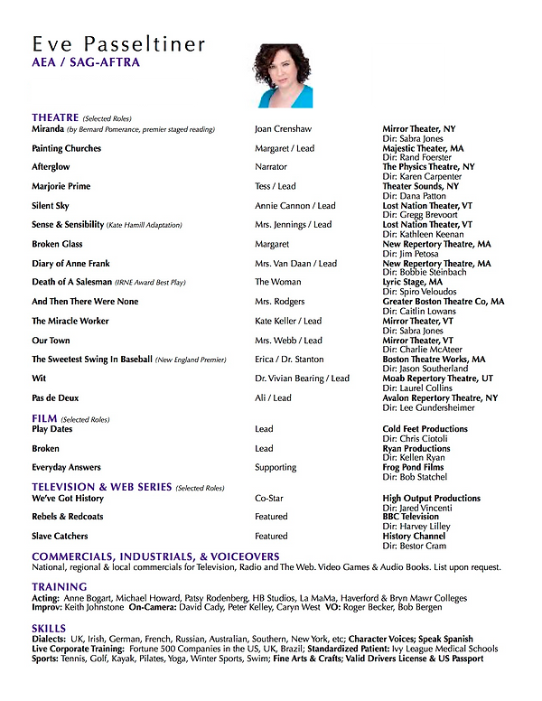 Eve Passeltiner Theatre Resume oct JPG.p