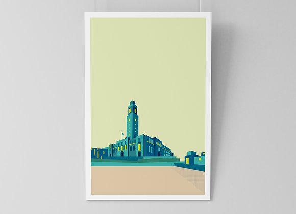 Barking Townhall (print)