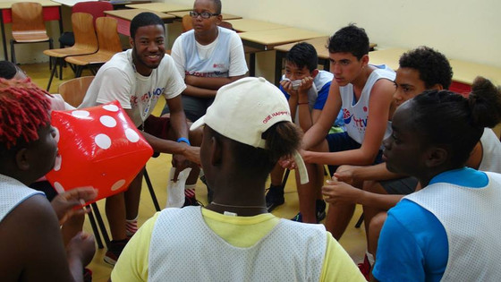 Basketball inspires Aruban youth to speak out
