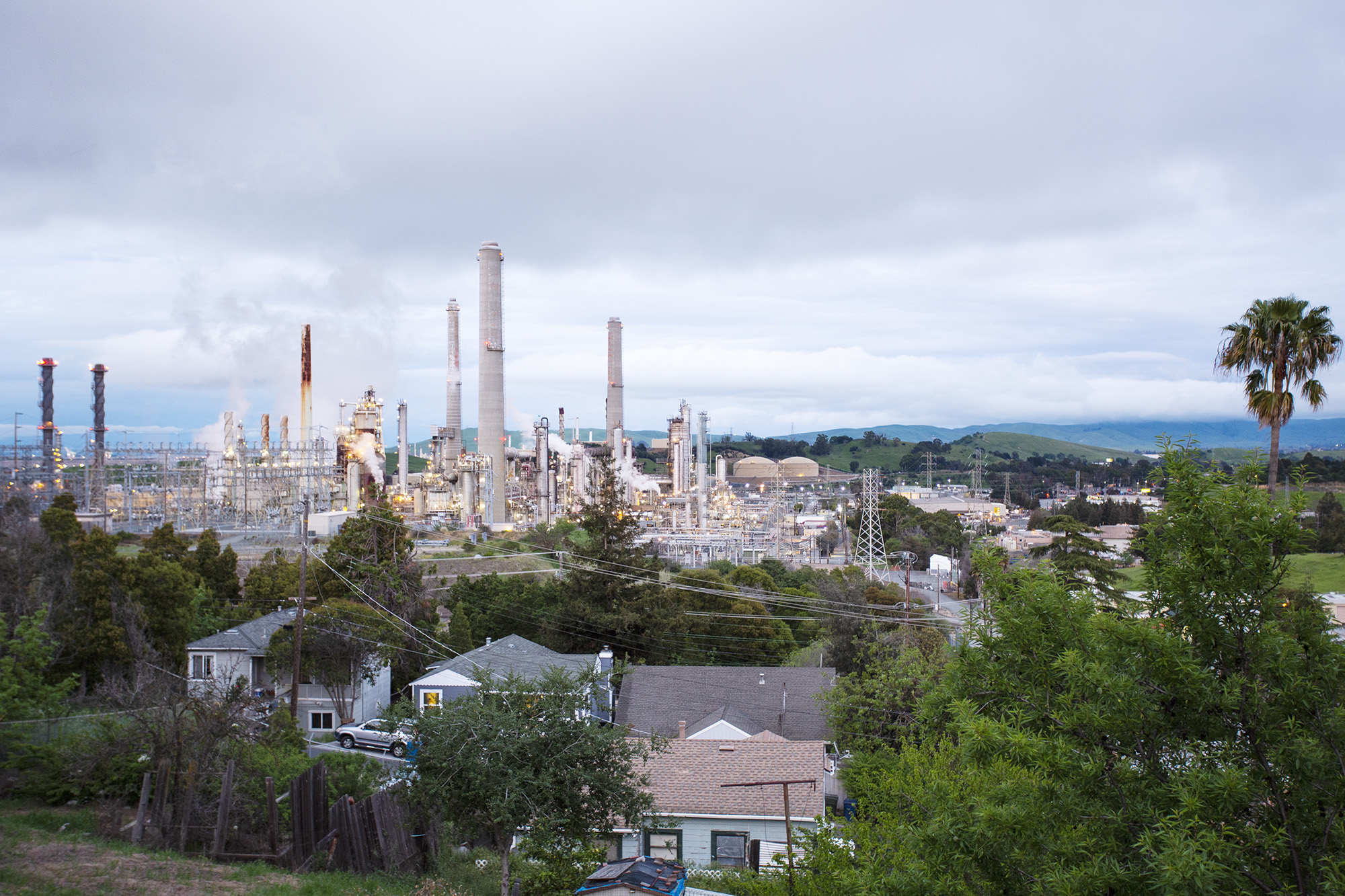 living with the Martinez refinery