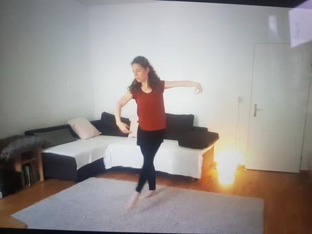 Wohnzimmertanzen: Ballett Choreografie