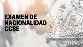 Prueba CCSE como requisito para solicitar la nacionalidad española
