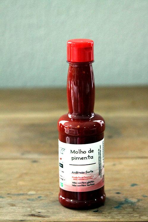 Molho de pimentas vermelhas - 150ml