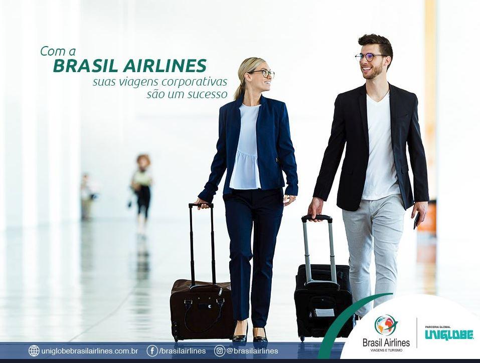 Brasil Airlines advertising