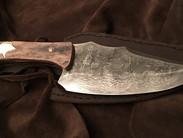 Couteau à défaire en damas