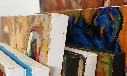 acrylschilderijen, schilderkunst