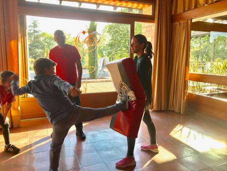 De 6 à 12 ans : 15 enfants formés au self défense