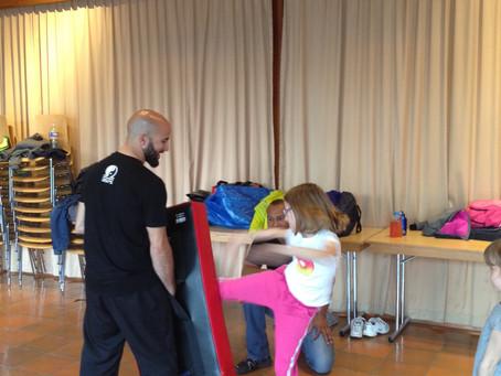 Cours de self-défense pour les enfants