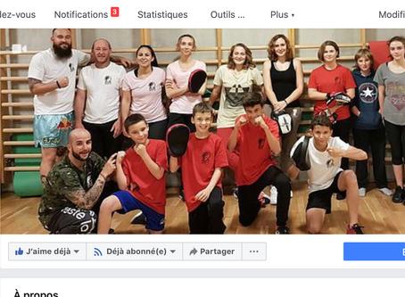 Notre Club est enfin sur Facebook