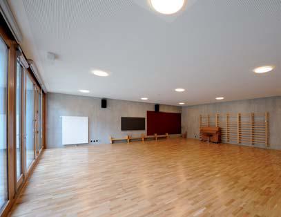 Notre nouvelle salle d'entraînement à Hermance