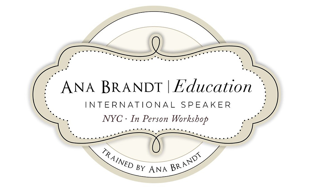 Trained by Ana Brandt Logo