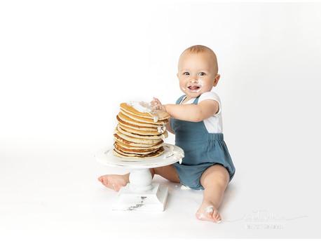 Pancake Smash!     Hudson Valley Newborn Photographer
