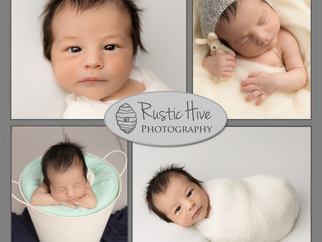 Baby H | Putnam Newborn Photographer