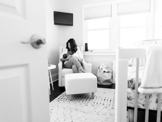 Storing Breast Pump Parts | Hudson Valley Newborn Photographer