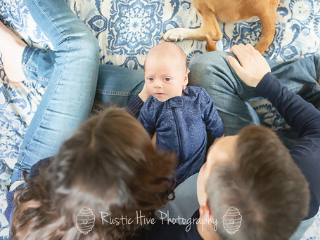 The S Family | Westchester Lifestyle Newborn Photographer