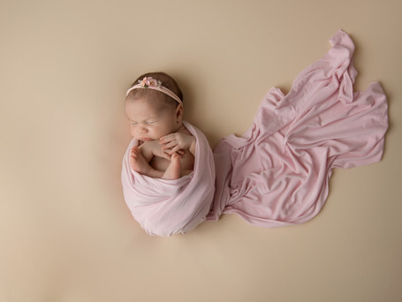 10 day old Baby Girl | New Fairfield Newborn Photography