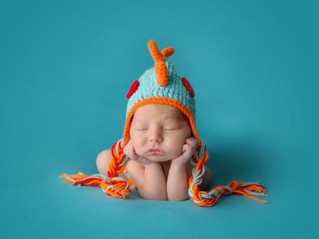 Simple Props in Newborn Photography | Hudson Valley Newborn Photographer