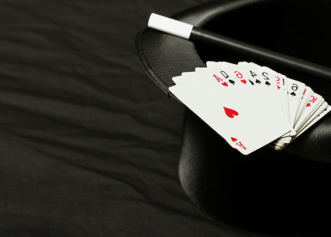 Magic Hat, Wand and Cards