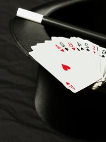 Chapeau Magique, Baguette et cartes
