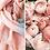 """Thumbnail: KNITTED LINES rankų darbo lininis šalis """"Rožinė pastelė"""""""