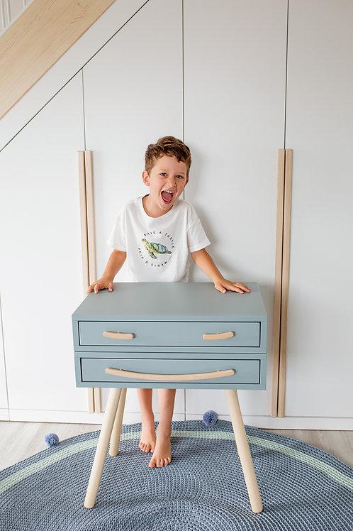 """MARGAS GENYS transformuojamas baldas """"OTIS"""": staliukas + komodėlė"""