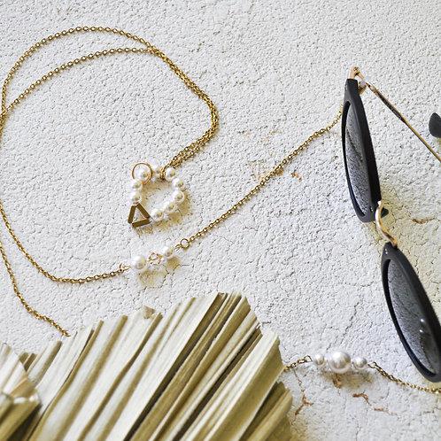 PerLau Design akinių grandinėlė/ kaklo papuošalas 'PERLA'21'