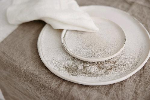 CERAMICAT IV rankų darbo keramikinė pietų lėkštė