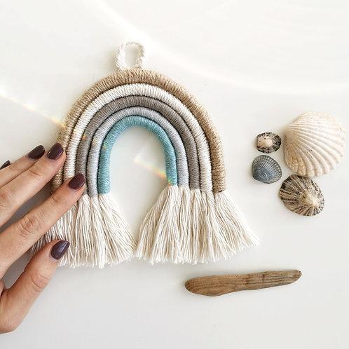 WILDDECO rankų darbo macrame vaivorykštė SEASIDE BLUE