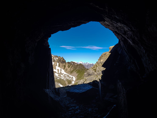Zimmer mit Blick auf Bernina