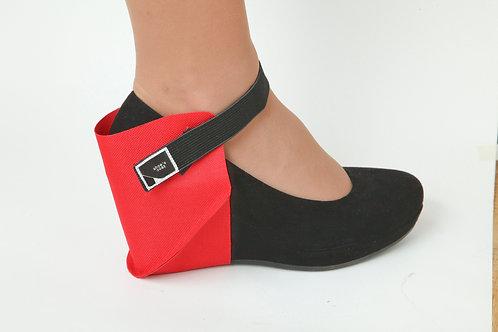 SHOECOAT raudona batų apsauga vairuotojams dešiniam batui