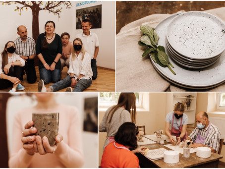 """Kauno """"Arkos"""" bendruomenės bičiuliams keramika leidžia išreikšti save ir patirti bendrystę"""