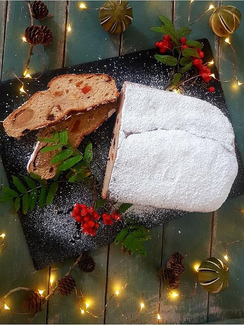 TAŠKUOTAS ZEBRAS kalėdinis brandintas štolenas