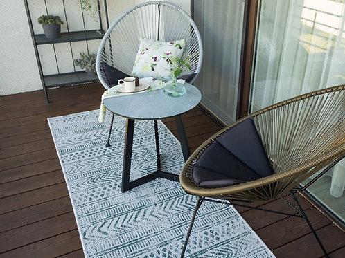 """MARGAS GENYS kavos staliukas """"Ramybės oazė"""" balkonui, terasai ar namams"""