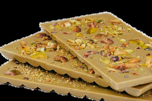 ŠOKOLADO NAMAI pistacijų šokoladas