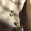 Thumbnail: CARAMEL CERAMICS pistacijų žalios/vanilės BUBBLE auskarai