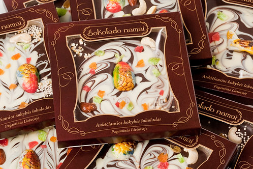 """ŠOKOLADO NAMAI šokoladinis paveikslėlis  """"Velykos"""""""