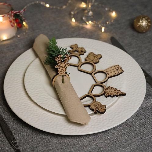 PONAS BEBRAS servetėlių laikikliai stalo serviravimui - Mars